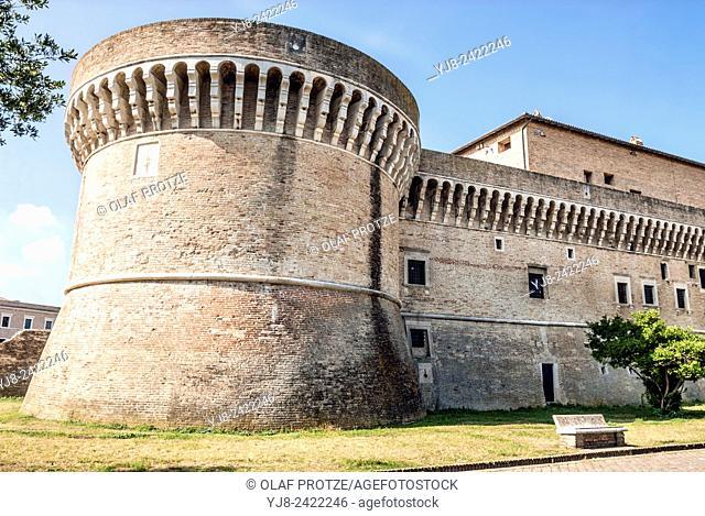 Rocca Roveresca in Senigallia at the Marche Region, Italy