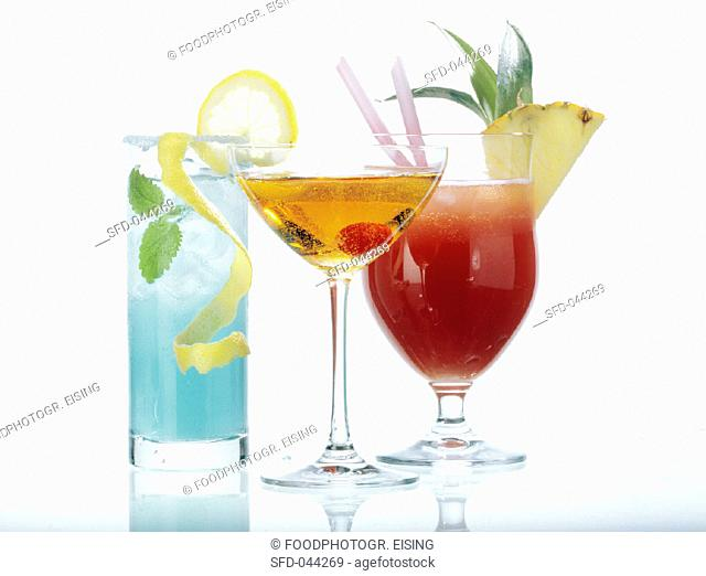 Drinks with Garnishes
