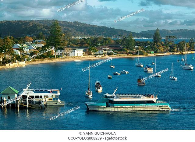 PALM BEACH - PITTWATER BAY - NEW SOUTH WALES - AUSTRALIA