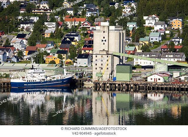 Commercial Docks, Tromso City, Troms County, Norway, Scandinavia