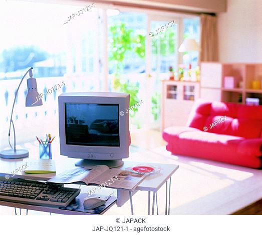 Computer in living room