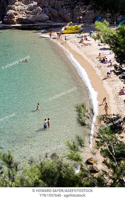 Aigua Blava, Costa Brava, Catalonia, Spain