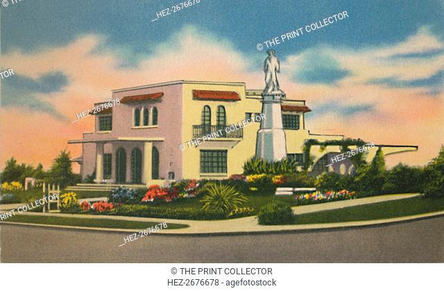'Residence in Altos del Prado, Barranquilla', c1940s. Artist: Unknown