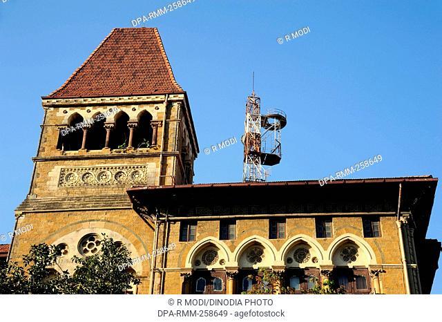 Telephone exchange building, mumbai, maharashtra, India, Asia