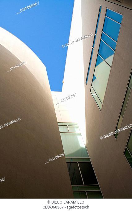Museum of Contemporary Art in Barcelona, Ciutat Vella, The Raval, Barcelona, Catalonia, Spain, Western Europe
