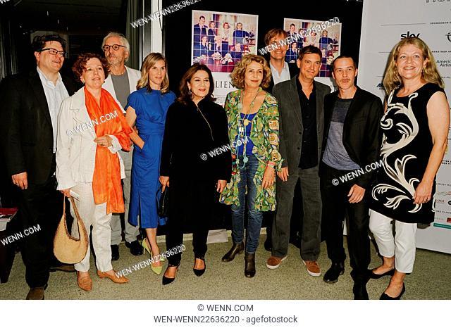 Filmfest Muenchen 2015 - Familienfest - Photocall at Rio Filmpalast Featuring: Benjamin Benedict, Caroline von Senden, Günther Maria Halmer, Nele Mueller-Stöfen
