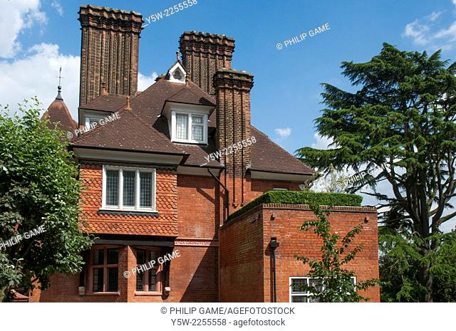A grand private home in the Arts and Crafts style in Hampstead, London