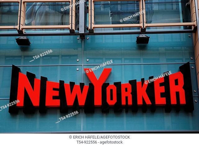 Logo of Newyorker Fashion on a Shop