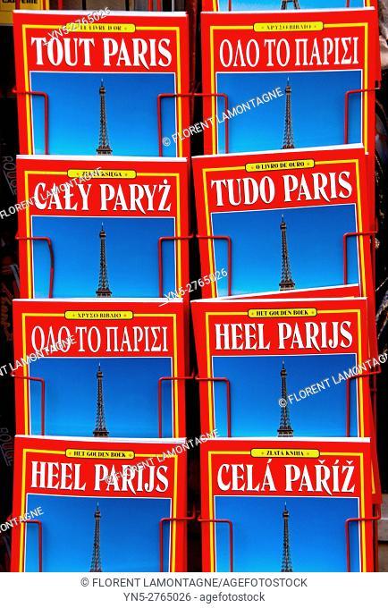 Tour guides about Paris, Ile de France