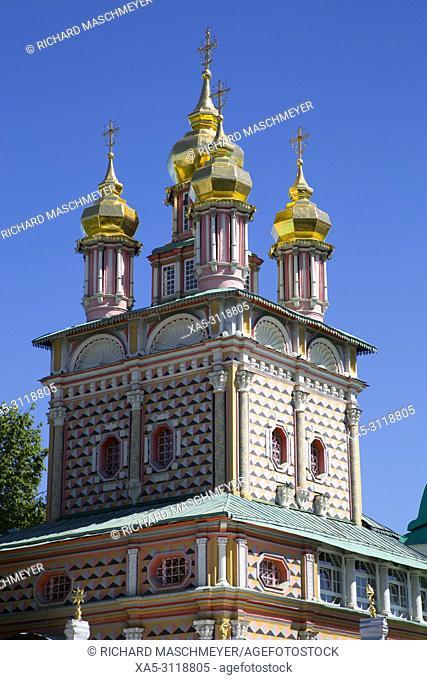 St John the Baptist Church, The Holy Trinity Saint Serguis Lavra, UNESCO World Heritage Site, Sergiev Posad, Golden Ring, Russia