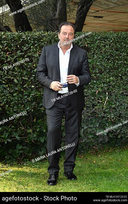 Sebastiano Somma during the photocall of tv fiction ' Come una madre ' (Like a mother) Rome, ITALY-16-01-2020