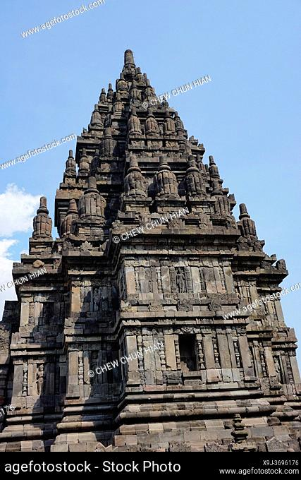 Candi Sewu Buddhist Temple, The Prambanan Temple Compounds, Yogyakarta, Central Java, Indonesia