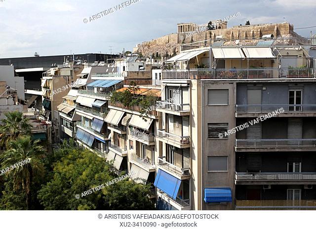 View of Acropolis Greece