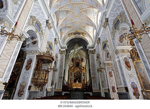 Religious foundation Goettweig, collegiate church, Lower Austria, Austria