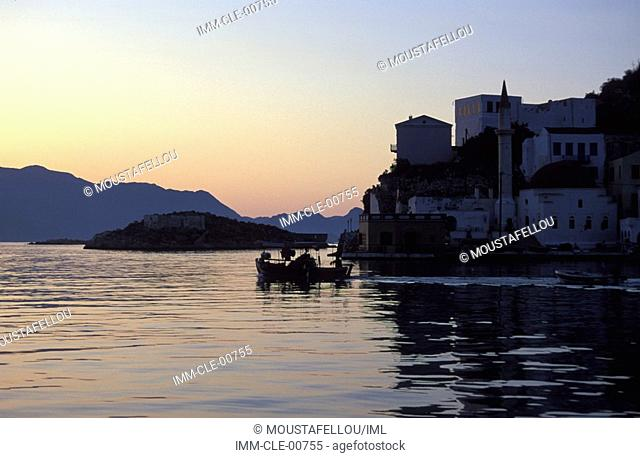 Castle Kastellorizo, Dodecanese, Greece