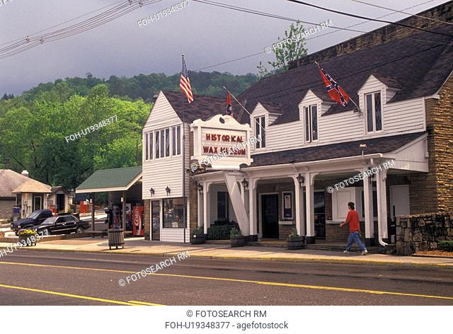Gatlinburg, TN, Tennessee, American Historical Wax Museum in Gatlinburg a popular mountain resort