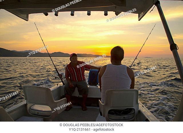 Fishing, Zihuatanejo, Ixtapa, Guerrero, Mexico