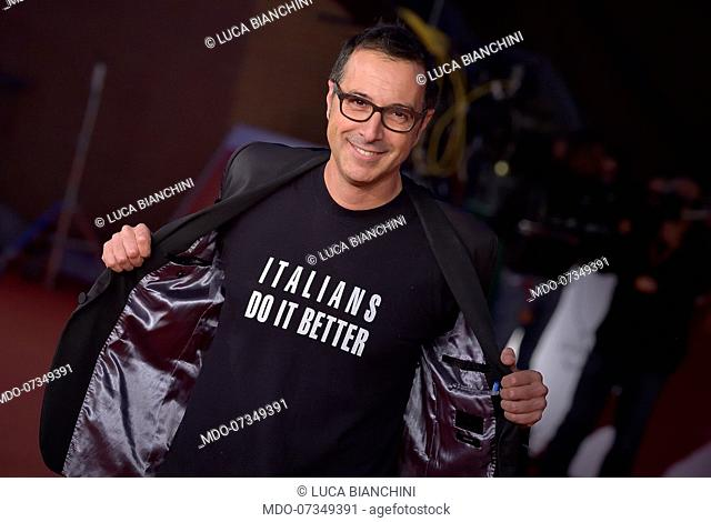 Luca Bianchini at Rome Film Fest 2019. Rome (Italy), October 25th, 2019