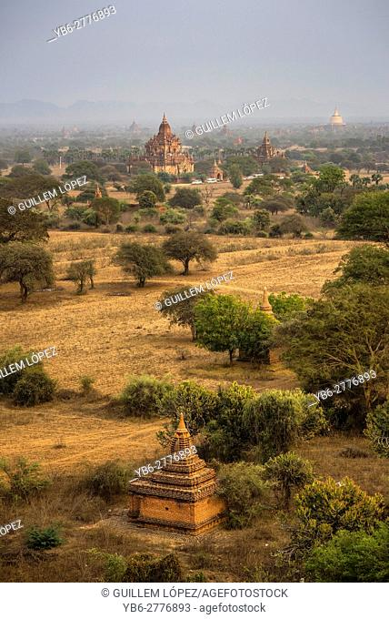 Temples at the Bagan Historical site, Myanmar