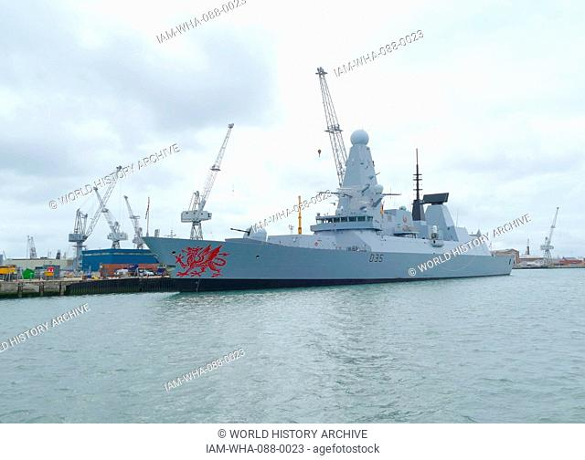 HMS St Albans is a Type 23 frigate of the Royal Navy, in the 'Duke' class of frigates. She is based in Portsmouth
