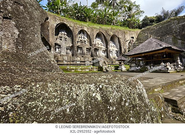 Gunung Kawi, 11th-century temple and funerary complex. Tampaksiring, Bali, Indonesia