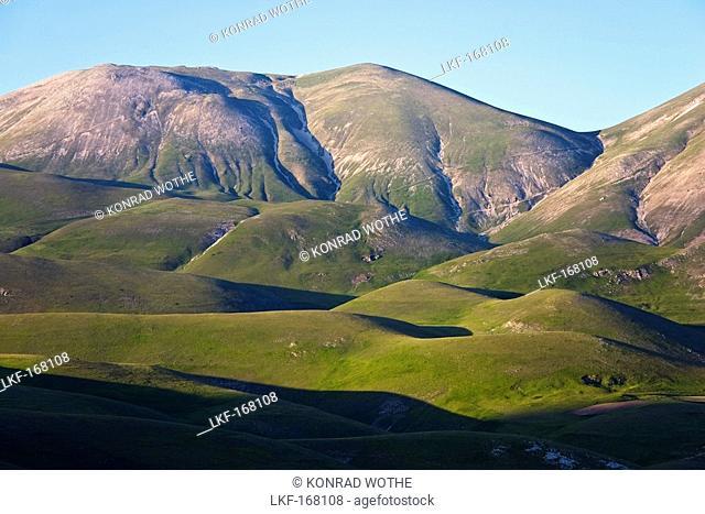 Monti Sibillini National Park near Castelluccio, Umbria, Italy