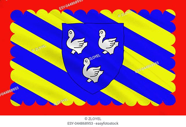 Flag of Cosne-Cours-sur-Loire is a commune in the Nièvre department in central France