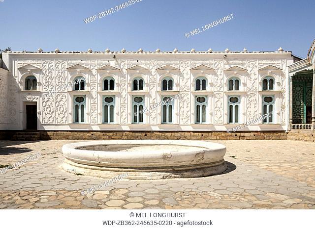 Summer Residential Palace, Sitorai Mohi Hossa Folk Art Museum, Bukhara, Uzbekistan