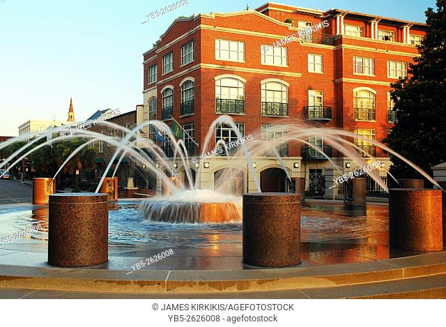 Fountain in the Waterfront Park, Charleston, South Carolina
