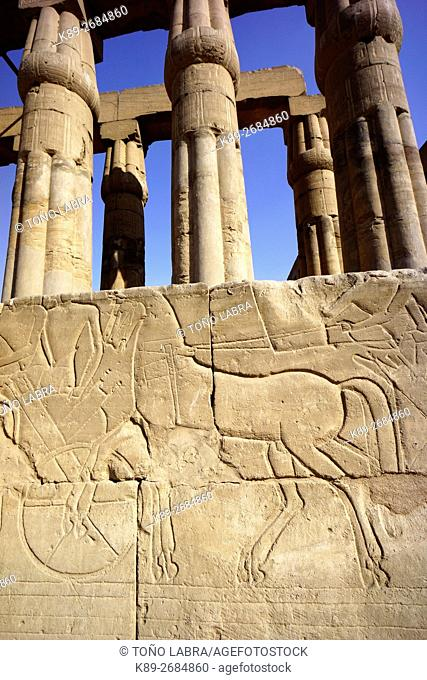 Luxor Temple. Luxor. Upper Egypt