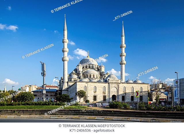 The New Mosque in Istanbul, Turkey, Eurasia