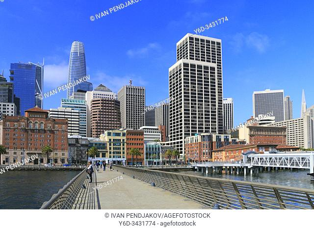 San Francisco Downtown, California, USA
