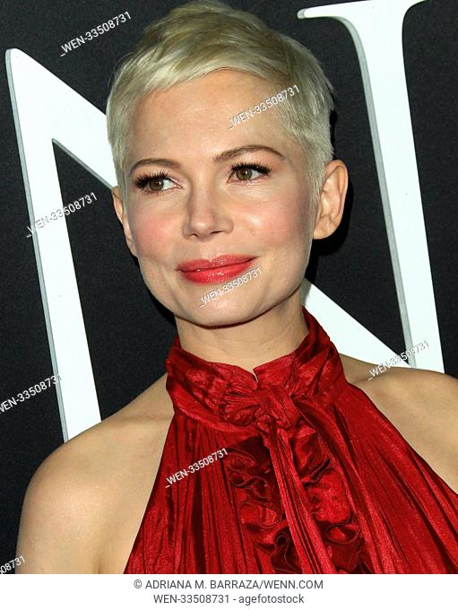 Los Angeles premiere of 'All The Money In The World' held at Academy's Samuel Goldwyn Theatre Featuring: Michelle Williams Where: Los Angeles, California