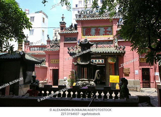 Jade Emperor Pagoda, Saigon, South Vietnam