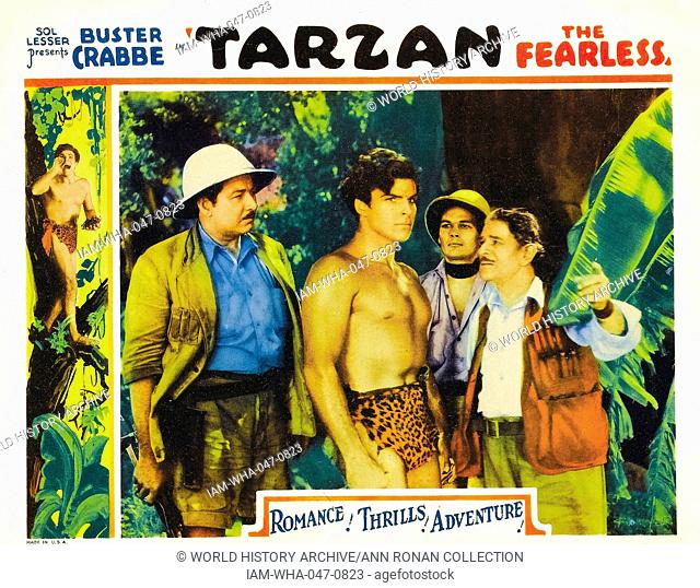 Tarzan the Fearless (1933) is a 12 chapter film serial starring Buster Crabbe in his only appearance as Tarzan. It was also released as a 71-minute feature film...
