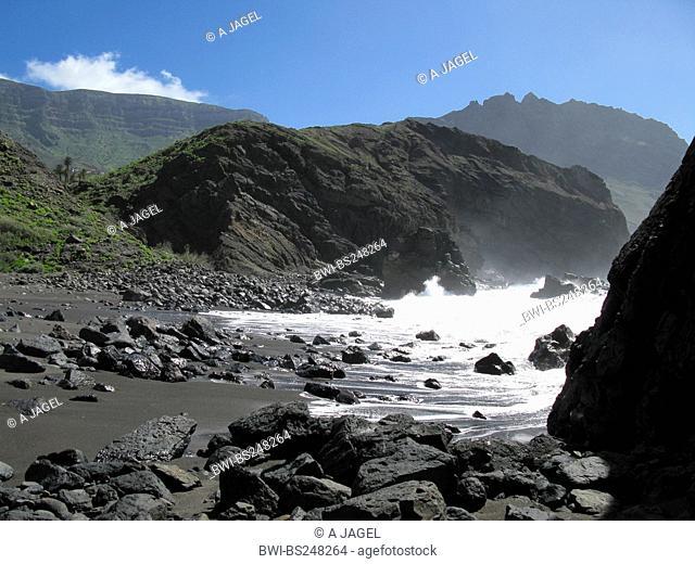 Playa del Trigo, Canary Islands, Gomera, Alojero