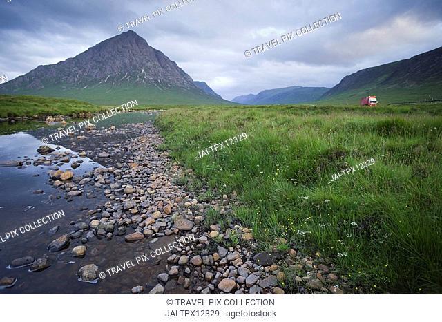Scotland, Highland Region, Glen Coe, Buachaille Etive Mor