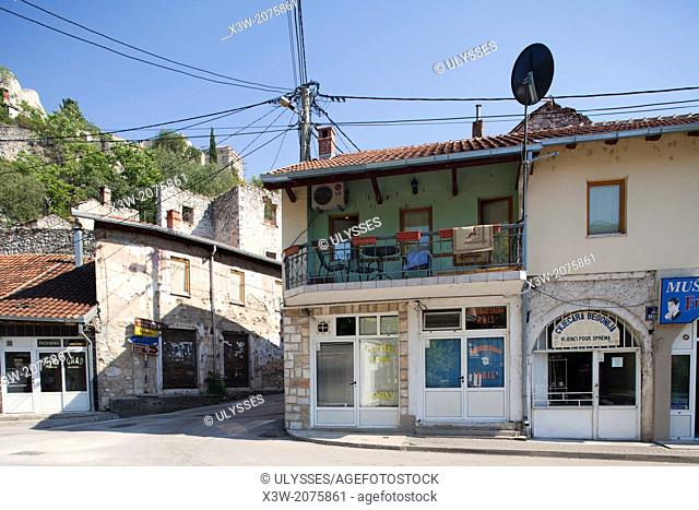 a house, stolac, village, bosnia and herzegovina, europe