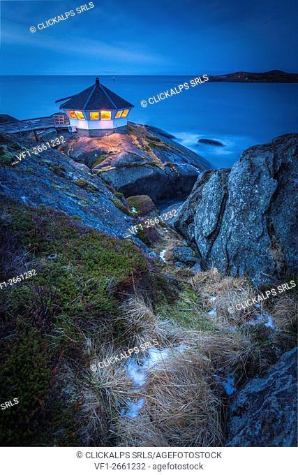 Hamm i Senja Lighthouse, Senja Island, Norway
