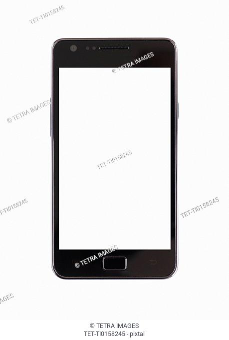 Smartphone on white background