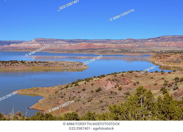 Abiquiu lake (man-made), New Mexico
