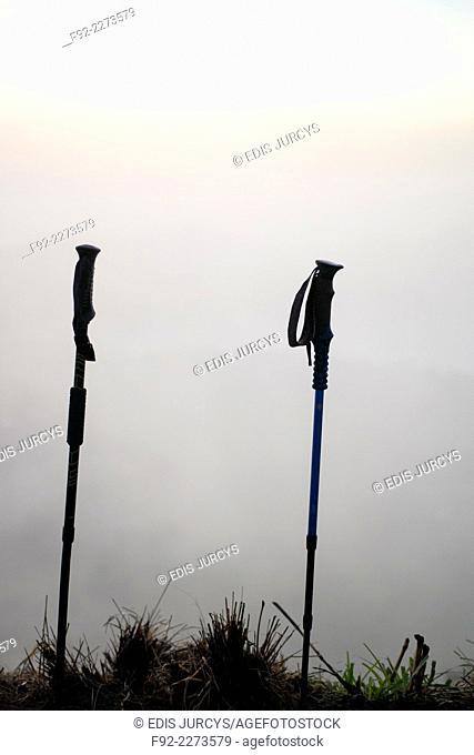 Hiking poles. Bali