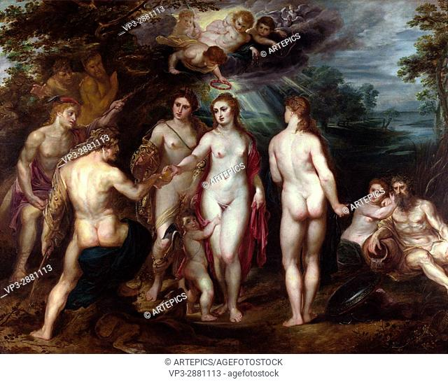 Peter Paul Rubens. The Judgment of Paris. 1625. . The National Gallery - London
