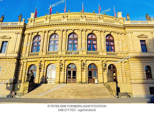Rudolfinum, concert hall, Josefov, Prague, Czech Republic