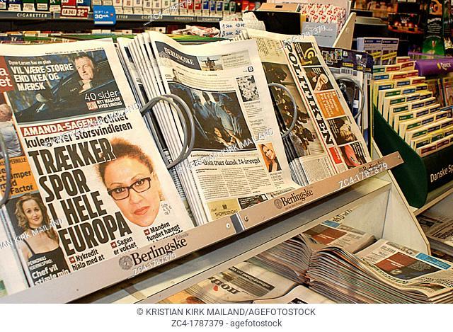 Newspaper kiosk - Scandinavia