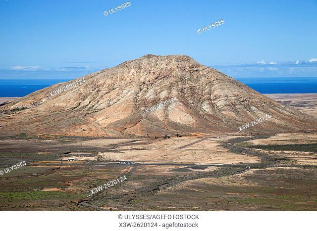Tindaya mountain, Fuerteventura island, Canary archipelago, Spain, Europe