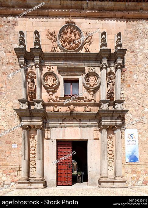Colegio del Arzobispo Fonseca, Salamanca, Castilla y Leon, Castile-Leon, Spain, Europe