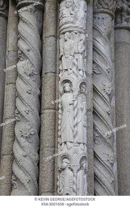 Cathedral Facade, Santiago de Compostela, Galicia, Spain