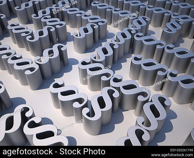 Maze of paragraphs