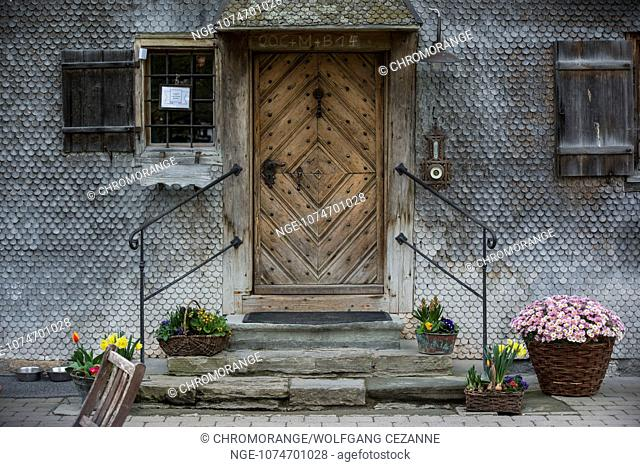 Old Farmhouse in Hindelang, Bavaria